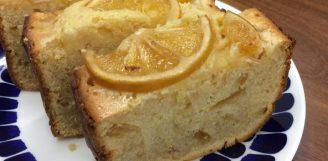 事務所特製レモンケーキ