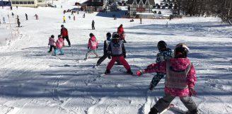 今シーズン初レッスンin飯綱高原スキー場