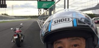 鈴鹿サーキット! バイク!